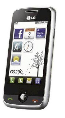 LG GS290 Cookie Fresh Silver