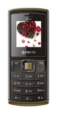 Q-Mobile Q130i Grey Coffee