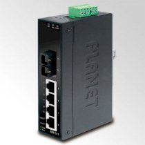 Planet ISW-511 4-Port 10/100Base-TX + 1-Port 100Base-FX Industrial Fast Ethernet Switch