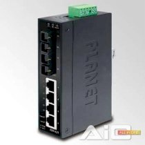 Planet ISW-621 4- Port 10/ 100Base-TX + 2- Port 100Base – FX Industrial Fast Ethernet Switch