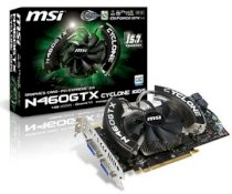 N460GTX Cyclone ( Nvidia Geforce GTX 460 1GB GDDR5, 256-bit, PCI Express x16 2.0 )