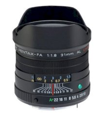 Lens Pentax FA 31mm F1.8 AL Limited