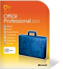 Office Pro 2010 English  (W,E,P, One, Publisher,O,A) (SEA 1pk OEI No Disk)  ( 269-14834 )