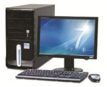 Robo Angela F21010 (Intel Core 2 Duo E7600 3.06GHz, 1GB RAM, 250GB HDD, VGA Onboard, PC DOS, LCD 17Inch)