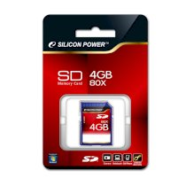 Silicon Power 80X Secure Digital Card 1GB ( SP001GBSDC080V10 )