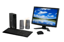 Máy tính Desktop Acer AL5100-BD4201A Destop PC (Athlon 64 X2 4200+, RAM 3GB DDR2, HDD 320GB, VGA ATI Radeon X1250 IGP, Display 20 inch, Windows Vista Home Premium)