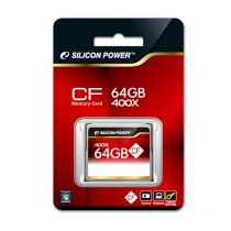 Silicon Power 400X Professional Compact Flash Card 8GB ( SP008GBCFC400V10 )