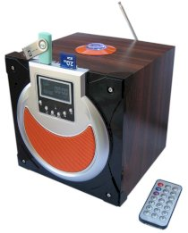 Wooden Mobile Speaker with SD SU-25