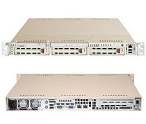 Supermicro SuperServer 6012L-6B (Black) ( Dual Intel Xeon up to 3.0GHz, RAM Up to 8GB, HDD 3 x 3.5, 400W )
