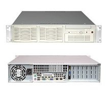 Supermicro SuperServer 2U 5025M-iB (Black) (Intel Pentium D/ P4, DDR2 Up to 8GB, HDD 2 x IDE, 400W)