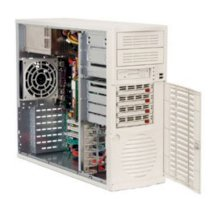 Supermicro SuperServer 5035G-TB (Black) (Intel Pentium D, Up to 8GB DDR2 RAM, 4 x Hot-swappable SATA HDD, 450W)