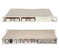 Supermicro SuperServer 5012B-6 (Beige) ( Intel Pentium 4 up to 2.4GHz, RAM Up to 3GB, HDD 2 X 3.5 SCSI, 250W )