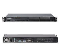 """Supermicro SuperServer 5015A-H(Black) (Intel Atom 330 Single Core 1.6GHz, DDR2 Up to 2GB,HDD 1x 3.5"""", 200W)"""