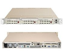 Supermicro SuperServer 6012P-6B (Black) ( Dual Intel Xeon up to 3.0GHz, RAM Up to 8GB, HDD 3 x 3.5, 400W )