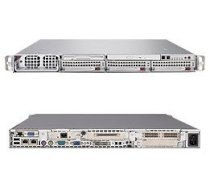 Supermicro SuperServer 6015T-TV (Silver) (Dual Intel 64-bit Xeon Quad Core or Dual Core, DDR2 Up to 32GB, HDD 2 x HotSwap, 900W)