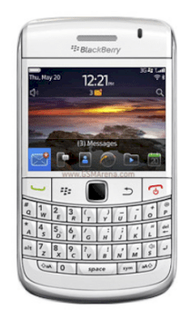 BlackBerry Bold 9780 (BlackBerry Onyx II 9780) White