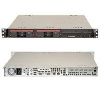 """Supermicro SuperServer 5016T-TB (Black) (Intel Core i7 /Xeon 5600/5500/3600/3500, DDR3 Up to 24GB,HDD 2x 3.5"""", 280W)"""