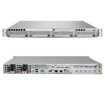 Supermicro SuperServer 5015M-URV (Silver) ( Intel Xeon 3200/3000 Series/Pentium D, RAM Up to 8GB, HDD 4 x 3.5, 450W )