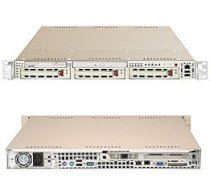 Supermicro SuperServer 6014H-Xi (Beige) ( Dual Intel 64-bit Xeon up to 3.60GHz, RAM Up to 32GB, HDD 3 x 3.5, 420W )