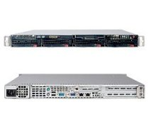 Supermicro SuperServer 5015TB-10GB (Black) ( Intel® Xeon 3000 Core 2 Extreme/Quad/Duo Series , RAM Up to 8GB, HDD 2X Hotswap, 780W )