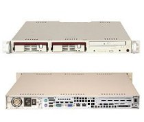 Supermicro SuperServer 6013A-TB (Black) ( Dual Intel Xeon up to 3.20GHz, RAM Up to 8GB, HDD 2 x 3.5, 350W )