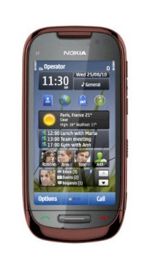 Nokia C7 Brown