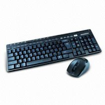 Newmen KM-109RF 2.4GHz Wireless Combo with 11-hotkey and 5-button Optical Mouse