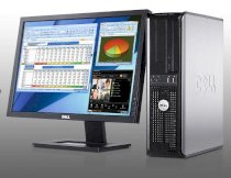 Máy tính Desktop Dell OptiPlex 780 Mini Tower (Intel Core 2 Duo E7600 3.06GHz, RAM Up to 8GB, HDD Up to 500GB, GMA 4500, OS WIN7, Không kèm màn hình )