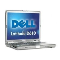 Dell Latitude D610 (Intel Pentium M 740 1.73GHz, 1GB RAM, 40GB HDD, VGA Intel GMA 900, 14.1 inch, Windows XP Professional)