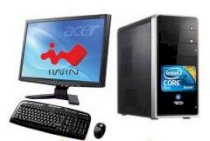 iWin B710 (AMD Phenom X3-8650 Triple Core 3x2.3GHz, RAM 1GB, HDD 160GB, VGA Onboard, PC DOS,  LG-W1943SE 18.5inch )