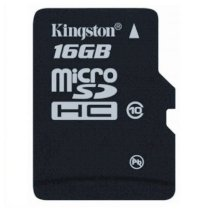 Kingston MicroSDHC 16GB (Class 10)