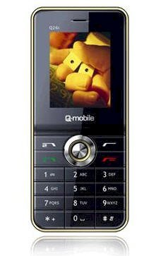 Q-Mobile Q26i Black Gold Champagne