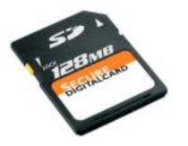 Transcend SD card 128 MB 45x