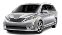 Toyota Sienna LE 3.5 AT FWD 2011