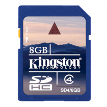 Kingston SD 8GB