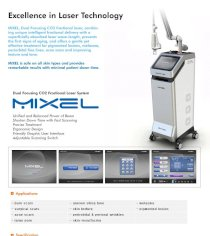 Hệ thống máy Laser Fractional CO2 Mixel