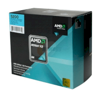 AMD Athlon X2 Dual-Core 4200+ (2.2GHz, 2x512KB L2 Cache, Socket AM2, 2000MHz FSB)