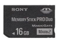 Sony Memory Stick  PRO Duo Mark 2 Media (MS-MT16G) 16GB