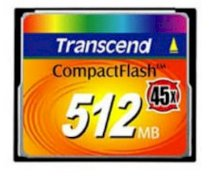 Transcend CF 512MB (45x Speed)