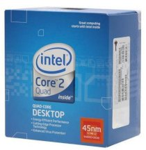 Intel Core2 Quad Desktop Q8300 (2.50GHz, 4MB L2 Cache, Socket 775, 1333MHz FSB)