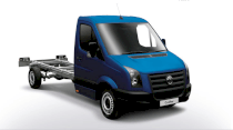 Volkswagen Crafter Chassis Cab 163PS Blue TDI 2.5 MT 2011