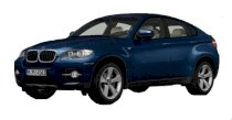 BMW X6 xDrive35i  AT 2009 xanh