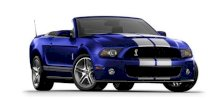 Ford Mustang Shelby GT500 Convertible 5.4  MT 2012