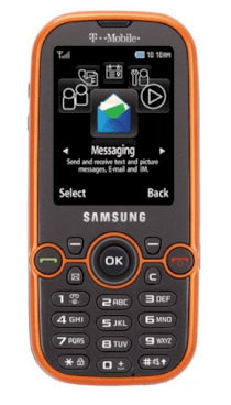 Samsung T469 Gravity 2 Metallic Pumpkin