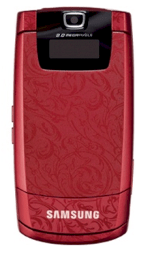 Samsung D830 Red