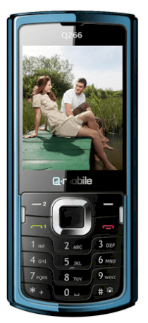 Q-mobile Q266 Black Blue