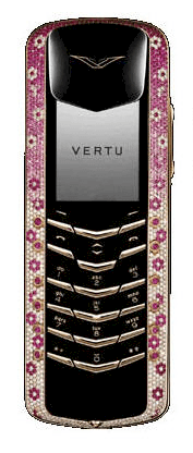 Vertu Signature Diamonds Rose Gold pink diamonds