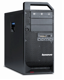 Lenovo ThinkStation S20 4105O3U Workstation (1 x Xeon W3550 3.06 GHz, RAM 4 GB, HDD 1 x 500 GB, DVD±RW (±R DL) / DVD-RAM, Quadro 600, Windows 7 Pro 64-bit, 625 Watt)