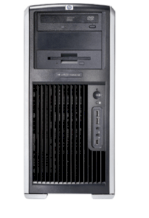 HP Workstation xw9400 - FL838UT (1 x Third-Generation Opteron 2380 / 2.5 GHz, RAM 4 GB, HDD 1 x 500 GB, DVD±RW (±R DL) / DVD-RAM, no graphics, Vista Business, Không kèm màn hình)