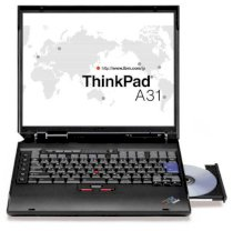 IBM ThinkPad A31 (Intel Pentium 4 2.0GHz, 512MB RAM, 20GB HDD, VGA Intel Extreme Graphics II, 14.1 inch, Windows XP Professional)